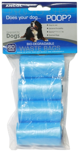 Poop Bag Dispenser Refill 60pc