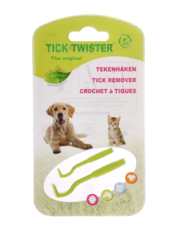 O`Tom Tick Twister Assorted Colours 2pk