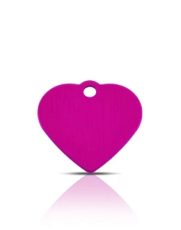 Wholesale Small Purple Disc Dog ID Tags x10 Pack