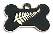 New Zealand Fern Dog ID Tag