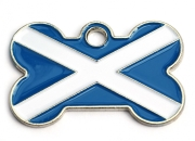 Scotland Pet ID Tag Small Bone