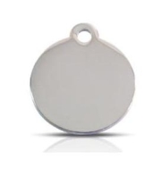 Stainless Steel Pet ID Tag Small Disc