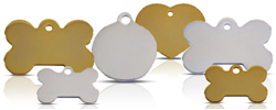 Traditional Dog id Tag Range