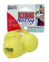 Kong Air Squeker Tennis Ball 3 Small Pack