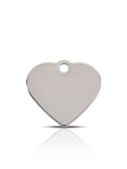 Wholesale Small Stainless Steel Disc Dog ID Tags x10 Pack