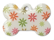 Retro Dots Dog ID Tag